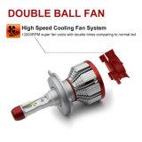 H7 H11 9005 9006 H13 Csp Faro Lumen 12000 Coche Ventilador de 8s de la luz de faro de LED Bombilla con el CANBUS