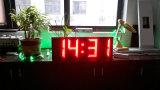 Numerales gigante al aire libre GPS LED impermeable reloj de pared