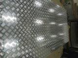 Aluminium Vijf Heldere het Patroon van de Staaf eindigt