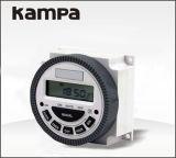 Cn304A Tmer hebdomadaire 12V programmable à distance Commutateur de minuteur numérique LCD