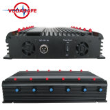 12-banda GSM DCS Rebolabile Jammer 3 G de 4 G WiFi GPS Satelliten-Telefone und Auto Fernbedienungen 315-433-868 MHz