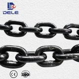 Galvanizado G80 Enlace elevación 5mm*15mm Cadena para el bloque de la cadena