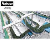 Поддон Hairise динамики совокупного модульной пластиковой ленты конвейеров
