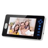 Het hete Verkopen Draadloze VideoDoorphone met de Klok van de Deur