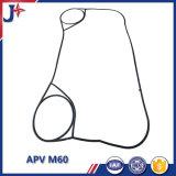 Guarnizione di Apv M60 con NBR EPDM Viton per il fornitore dello scambiatore di calore del piatto
