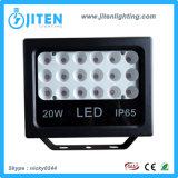 Luz de inundación de IP65 LED/lámpara delgadas al aire libre impermeables, reflector del poder más elevado