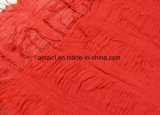 女性(ABF22004021)のための方法によって染められるクレープのショールのしわのアクリルのスカーフ