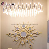 Moderne einfache Glasgefäß-hängende Lampe für Hotel