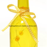 Luces decorativas de la botella del LED con la botella de vino estrellada de la decoración del hogar de la luz de la cadena del corcho y del cráneo del LED