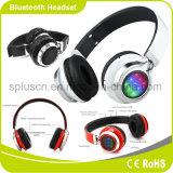 De LEIDENE van de hoofdband StereoHoofdtelefoon Bluetooth van de Muziek met Opmerkelijke Correcte Kwaliteit
