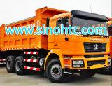 Shacman 6X4 340HP 5.8m鉱山の使用のダンプカートラック