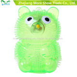 New Colorful Puffer Yoyo Bear Toys Light Up Ball
