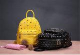 고품질 PU 어깨에 매는 가방 가죽 소녀 책가방
