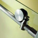 Recinto de desplazamiento de la ducha del cuarto de baño del perfil de aluminio con la maneta del acero inoxidable (K04)