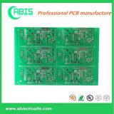 PCB доски зеленых чернил твердый с бессвинцовым HASL.