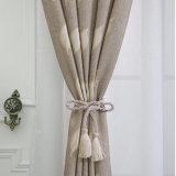Tissu européen magnifique de rideau en arrêt total de jacquard de type (04F0034)