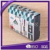 Kleiner Minipapier-Koffer-Geschenk-Kasten der pappe2017 mit Griff