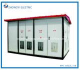 Matériel électrique de sous-station de sous-station électrique compacte préfabriquée des transformateurs 33kv