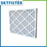 Filtro de aire del panel del producto con el marco de la cartulina