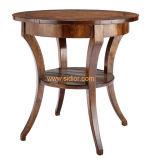 (CL-5516)古典的なホテルのレストランの公共のロビーの家具の木のコーヒーテーブル