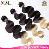 온라인으로 연약한 착색된 Ombre 브라질인 머리를 판매하는 광저우 공급자 중국 싼 직물