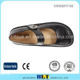 熱い販売ゴム製Outsole Danskoは女性のための靴を詰らせる