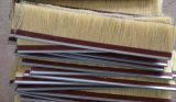 Роторная полируя деревянная щетка сизаля Tampico с бумагой шлифовального прибора