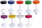 快適な円形の旋回装置PUのバースツール(LL-BC012)