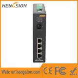 Interruptor llano industrial manejado de la fibra de Ethernet del SFP de 5 gigabites