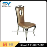 Edelstahl-Bankett-Möbel, die Stuhl speisen