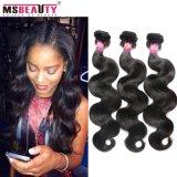 Cheveu de Brésilien de cheveux humains de Vierge de produits capillaires de Msbeauty