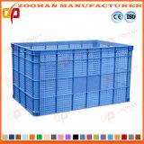 Panier en plastique intense de rotation de logistique de fruit de conteneur d'entreposage de légumes (Zhtb14)