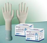 Стерильные перчатки предварительно порошок хирургические перчатки