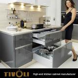 豪華な引出しおよびハードウェアTivo-D028hが付いているヨーロッパデザイン食器棚