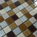 Плитка стены плитки мозаики декоративного строительного материала стеклянная