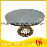 Acciaio inossidabile del fornitore con la Tabella pranzante superiore di vetro di temperamento