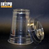 처분할 수 있는 플라스틱 컵물 컵 음료 컵