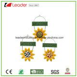 Puder beschichtete Metallsonnenblume Windchime für Ausgangs-und Garten-Dekoration