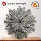 Часы стены искусствоа стены высокого качества деревянные для домашнего декора (LH-M170703)