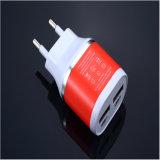 cargador dual universal de la pared del recorrido del hogar del USB 2.1A