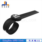 Imperméabiliser le bracelet personnalisé de silicones d'IDENTIFICATION RF