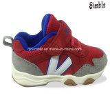 La moda de bebé zapatos deportivos de OEM de la luz de los niños