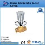 La máxima calidad a bajo precio de la Unión operada a mano final de la válvula de bola de latón de 1 pulgada con pezón