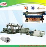 Hoja de Publicidad de tela de PVC bandera de la flexión Línea de extrusión de Producción