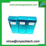 Напечатанная таможней коробка подарка цветастой бумаги пакета косметическая для дух бутылки