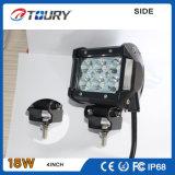 CREE Arbeits-Licht der Selbstmotorrad-kommerzielles elektrisches bündiges Montierungs-18W LED