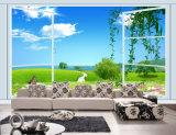 ホーム装飾のためのWindowsの紫外線印刷された絵画の外の緑の景色