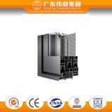 Un blocco per grafici di alluminio professionale Windows scorrevole delle tre piste con rete