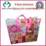 Sacchetto non tessuto laminato commercio all'ingrosso con il marchio personalizzato (KSD-902)