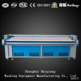 ISO keurde het Strijken van de Wasserij van Flatwork Ironer van Drie Rollen Industriële Machine goed